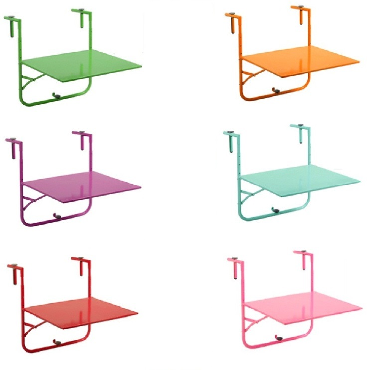 Hanging Rail Folding Balcony Table